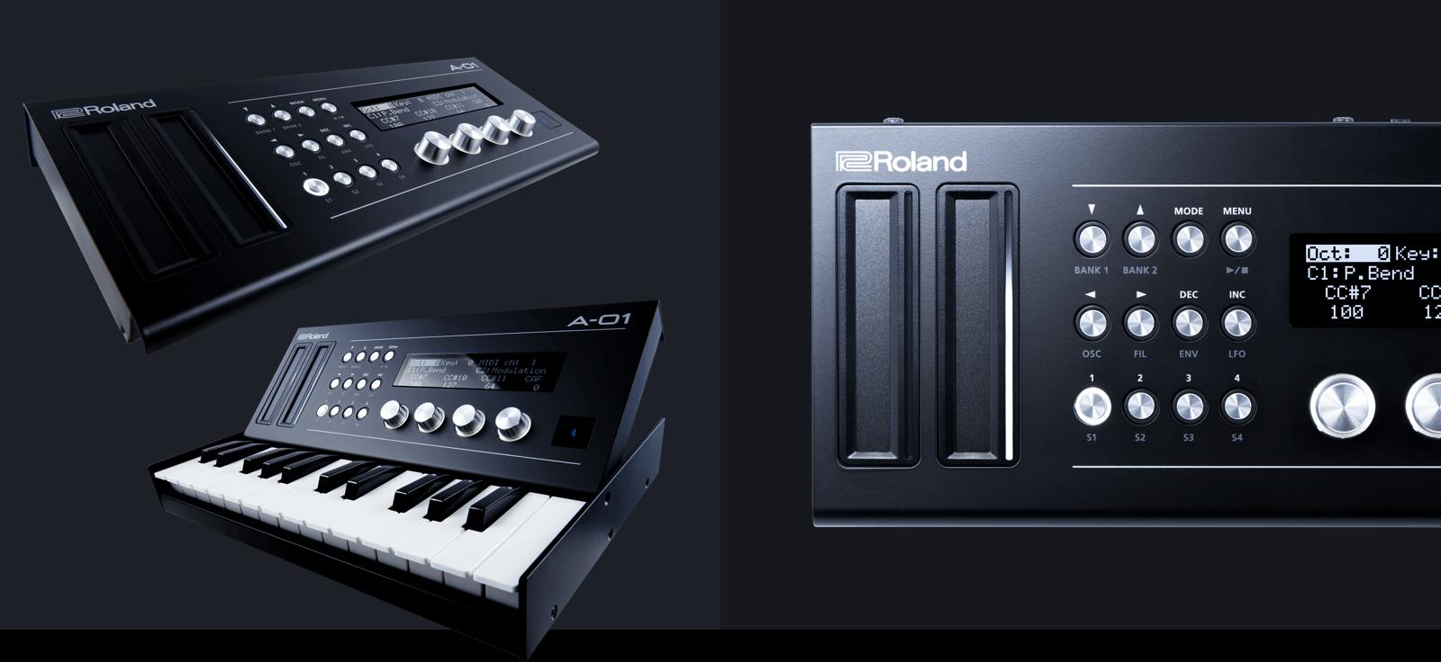 Roland A-01, controlador y motor de sonido de bolsillo (NAMM 2016)