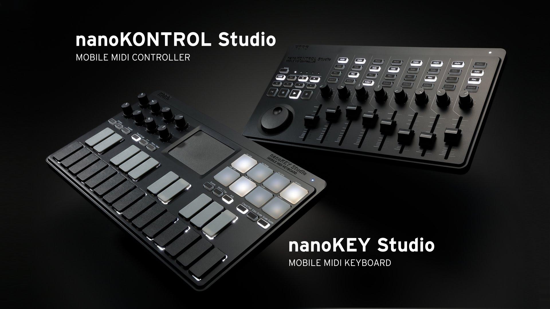 Korg nanoStudio Series: mini controladores, maxi portátiles (NAMM 2016)