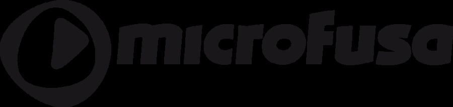 Logo Microfusa Negro