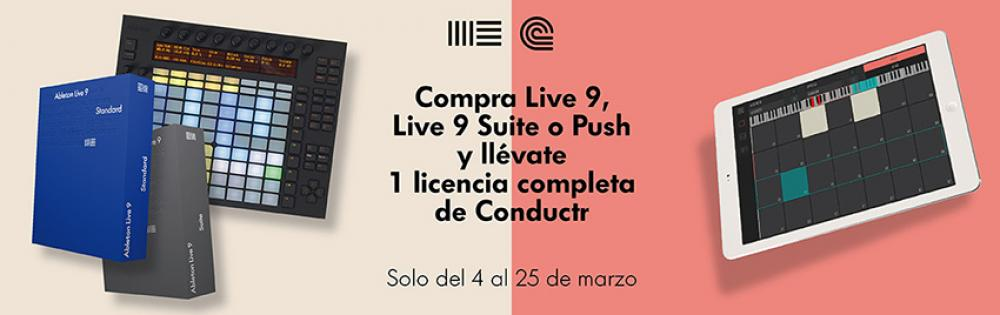 Compra Ableton Live y llévate una licéncia de Conductr - Blog de Microfusa