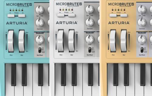 Arturia MicroBrute SE, edición especial a todo color.