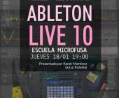Ableton Live10: Demo Session y Diseño Sonoro en Escuela Microfusa Barcelona