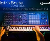 MatrixBrute Demo Tour: Microfusa te invita a probar en persona todo su potencial