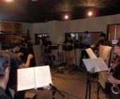 El estudio 1 de microFusa escogido para grabar el nuevo disco de la Star Wood Band
