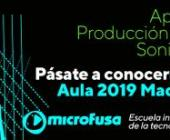 Microfusa presente en AULA 2019, en Madrid.