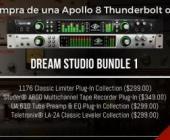 Dream Studio Bundles de Universal Audio en Microfusa - Aprovecha la promo más bestia de los últimos años