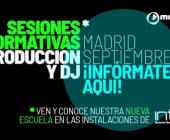 Sesiones Informativas de nuestros cursos de Producción y DJ en Madrid