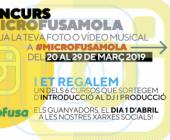 Concurso: Microfusa en el Saló de l'Ensenyament 2019.