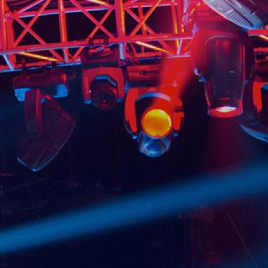 material de iluminación microfusa